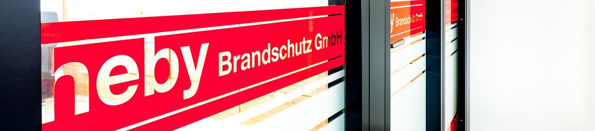 Leistungen der heby Brandschutz GmbH Düsseldorf